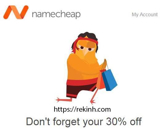 Mã Giảm Giá 30% Tên Miền Namecheap – Tên Miền Rẻ Nhất