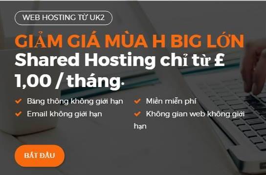 hosting 12 $ /năm tặng tên miền