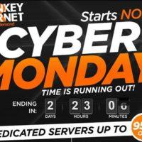 Cryber Monday Turnkey Hosting Giảm 95% Trọn Đời Chỉ 1$/ Tháng