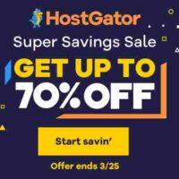 HostGator Khuyến Mãi 70% chỉ trong 3 ngày