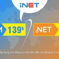 iNET giảm giá tháng 3 – tên miền .COM và .NET giá chỉ từ 129K