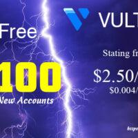 Vultr Khuyến Mãi Tháng 3 – Tặng 103$ Miễn Phí
